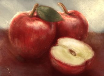 Apples study by nocturna152