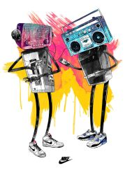 Nike Robot Dance by mathiole