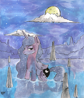 Moonlight Bath by Raph13th