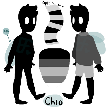 Chio the fly boy- Ref! by EdgyLwnFlamigo