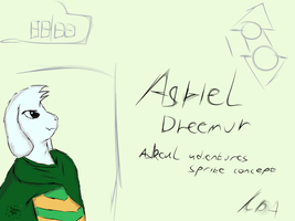 As-Real ADV_ Asriel concept by LukasDeAudi