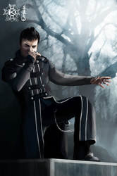 Roy Khan from Kamelot by Coltiaze
