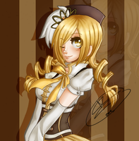 Colored: Mami by ChaoticBlossoms