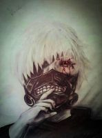 Kaneki Ken by kawaideath