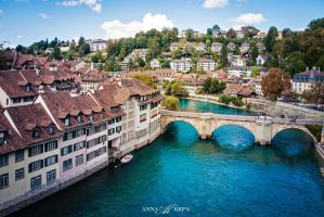 Bern, Switzerland by Zin-Carla