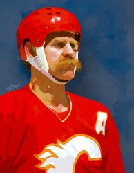 Lanny McDonald by wooden-horse