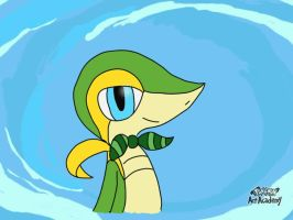 profile picture snivy by lSnivyl