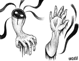 Disfigured Arms by Breannosis