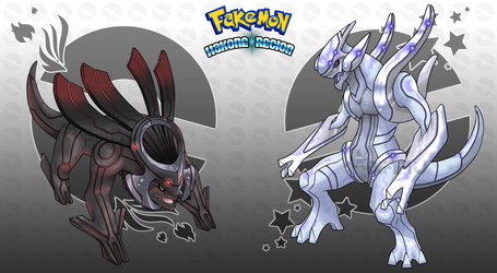 Hakone Region - Legendaries by Neliorra