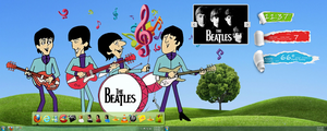 Beatles desktop by jlfarfan