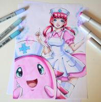 Nurse Joy by Lighane