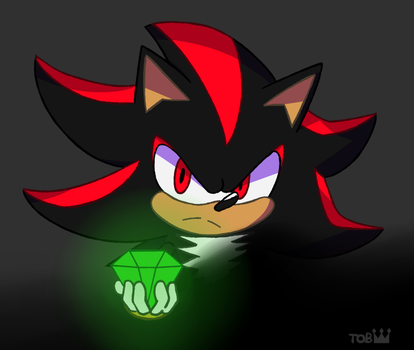 Shadow the Hedgehog by BadlyDrawnTob