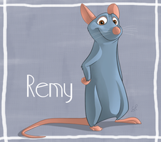 Ratatouille anyone? by shayfifearts