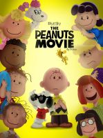 The Peanuts Movie (Fan Made Poster) by JustSomePainter11