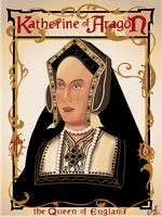 Tribute to Queen Katherine of Aragon by hnl