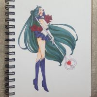 .Sailor Pluto. by Dark-elfa