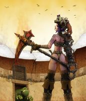 Gladiator Witch - Lilit by Plognark