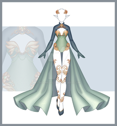 [Close] Adoptable Outfit Auction 197 by Kolmoys