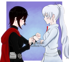 [RWBY] Commission for DarthMJ94 by Thothslibrary