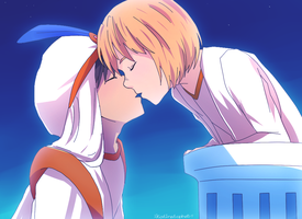 Eremin week - day 3 - Fairy tale by KatInATopHat