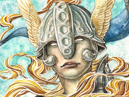 Rise of the Valkyrie by Vaelyane