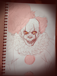 The dancing clown by Gameaddict1234