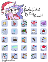 KandyCube's Very Griffia Advent! by Kandy-Cube