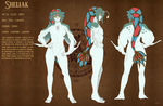 Model sheet Zora Sheliak by Dormin-Kanna
