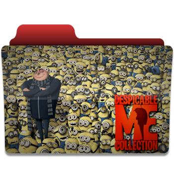 Despicable Me folder icon v3 by PanosEnglish