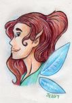 Raffle Prize: Fairy Portrait by JcArtSpace