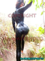 Island Catsuit Hiking by HammerPhoto