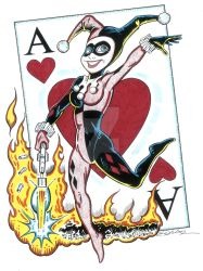 Harley Quinn - Original Art by Tim Estiloz by TimEstiloz