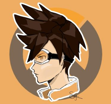 Tracer - Overwatch by lSaya