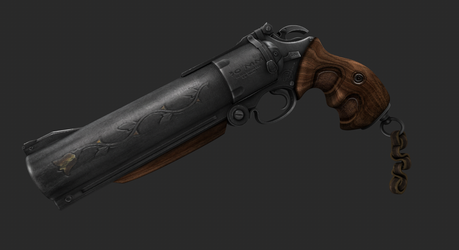 30MM Handcannon by King-of-Pirates
