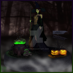 Halloween Magic by Faeini