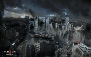 World War Z - City Concept Art by jamesdesign1