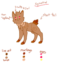 Character Ref- Annachip by Little-Volii