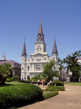 St. Louis Cathedral 2 by zillah73