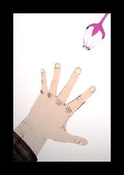 Reaching out for what you want by Kyokono-Bade