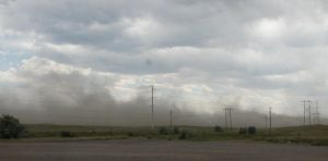 Wyoming Dust Storm by DocMallard