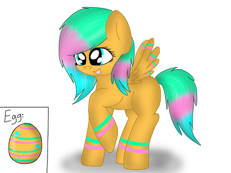 Pony Egg #3 Hatched! by CoolAdoptables