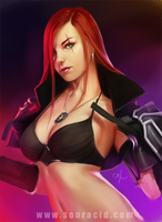 Katarina by SourAcid