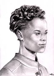 Letitia Wright by emalterre