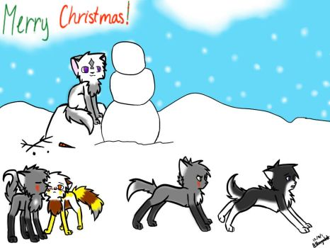 Warrior Cats Entry:Merry Christmas!!! by Owlowwy