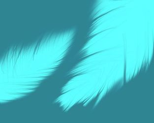 Blue feathers by MSwope