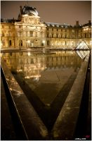 Louvre triangle by neoxavier