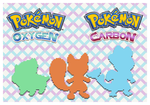 Introducing Pokemon Oxygen and Pokemon Carbon by Speedialga