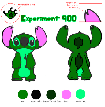 900 Reference Sheet by Experiment900