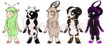 Sheep Adoptables 3 OPEN by galianogangster