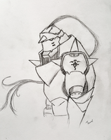 Alphonse Elric by Thuviel
